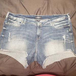 Pants - Silvers shorts